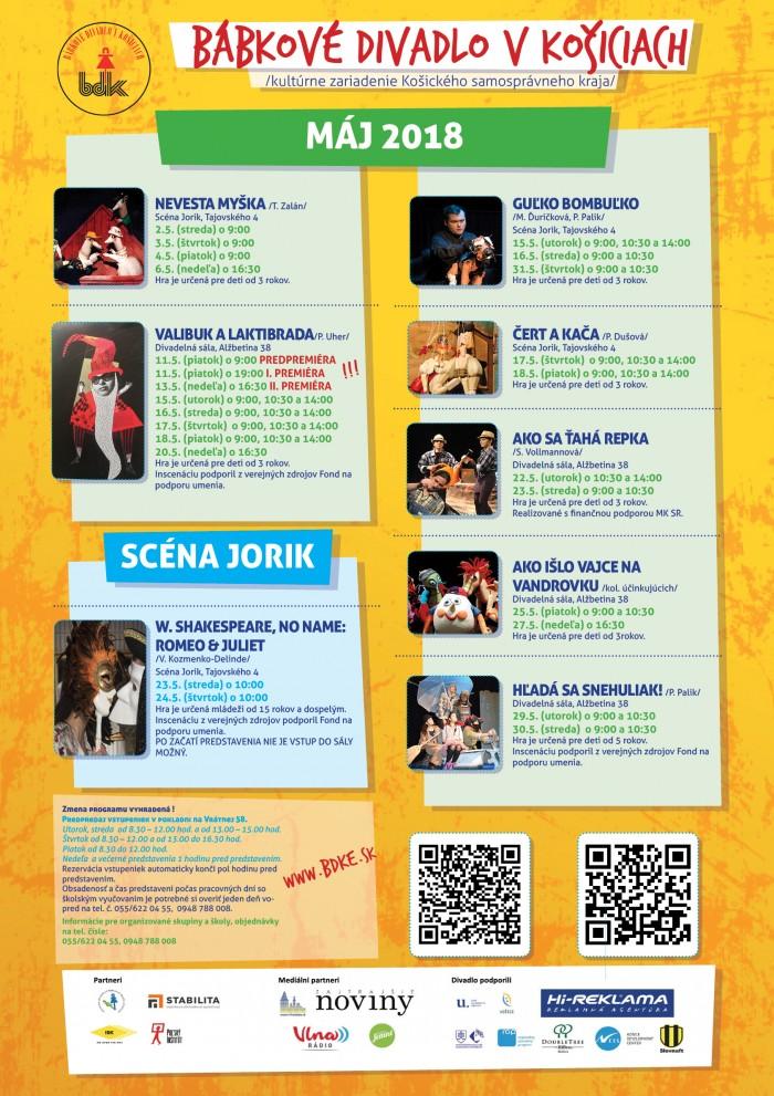c2998ab88 Program Bábkového divadla v Košiciach | SDEŤMI.com