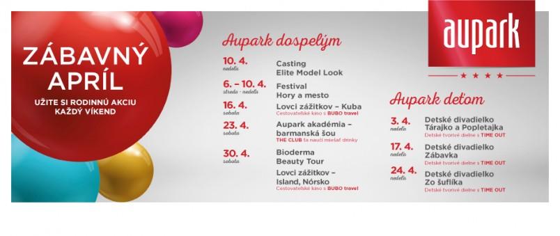 267924651 slider home 1459866115050 Zabavny april Aupark Bratislava