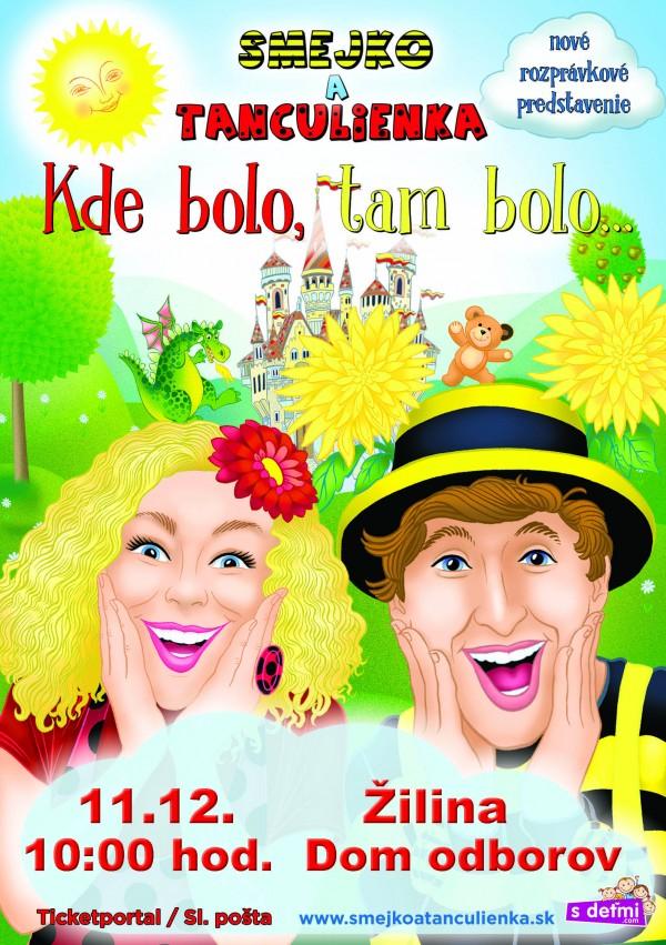 Smejko a Tanculienka v Žiline @ Dom odborov | Žilina | Žilinský kraj | Slovensko