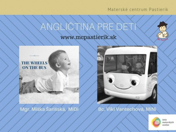 355316f86 Angličtina pre deti v MC Pastierik | SDEŤMI.com