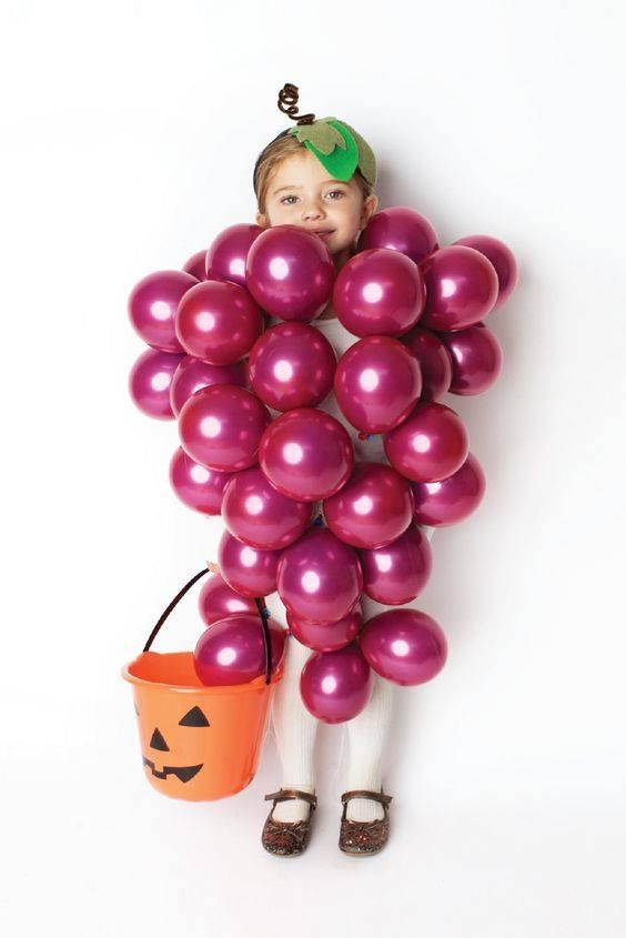 Halloween Grape Costume