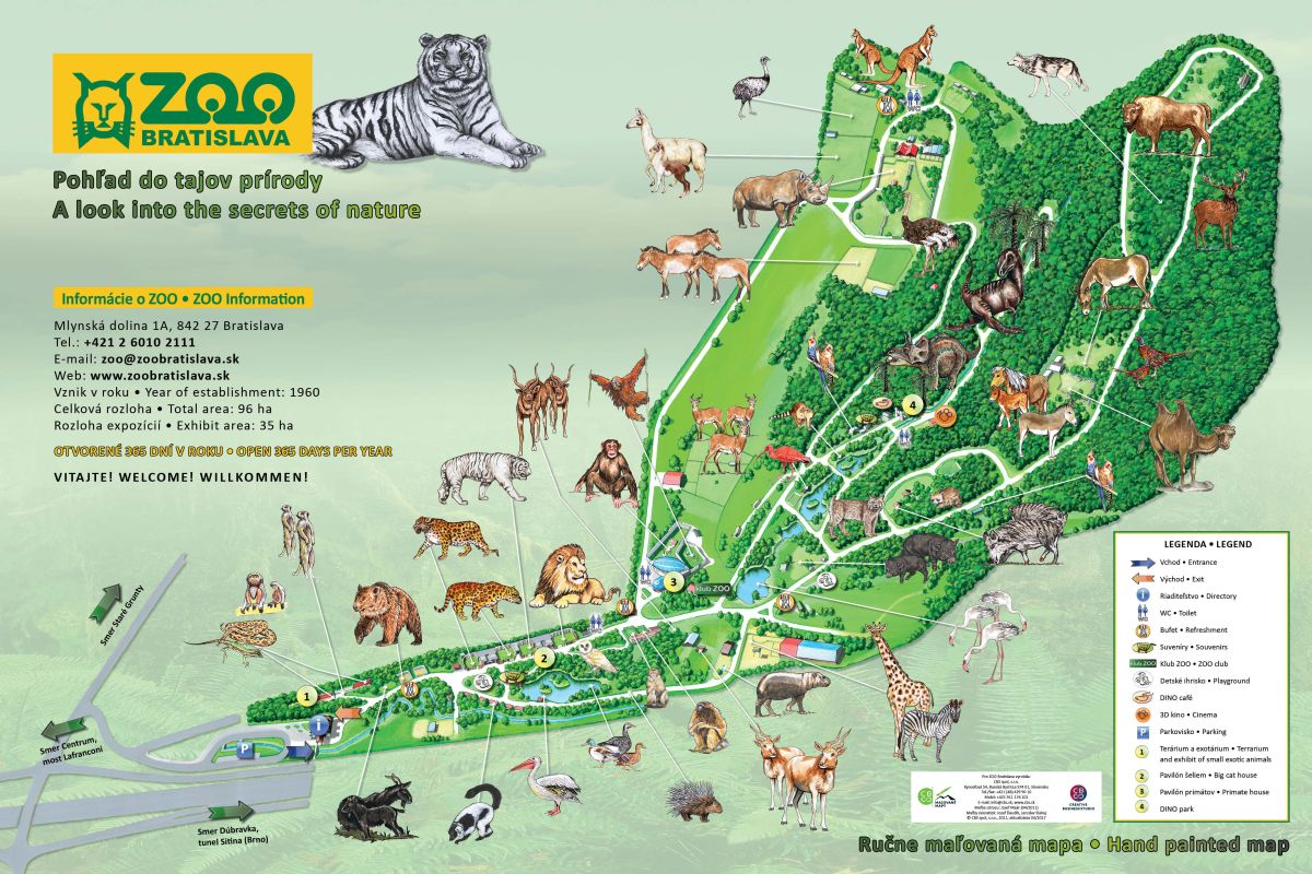 a666c3a23 Zoologická záhrada Bratislava | SDEŤMI.com