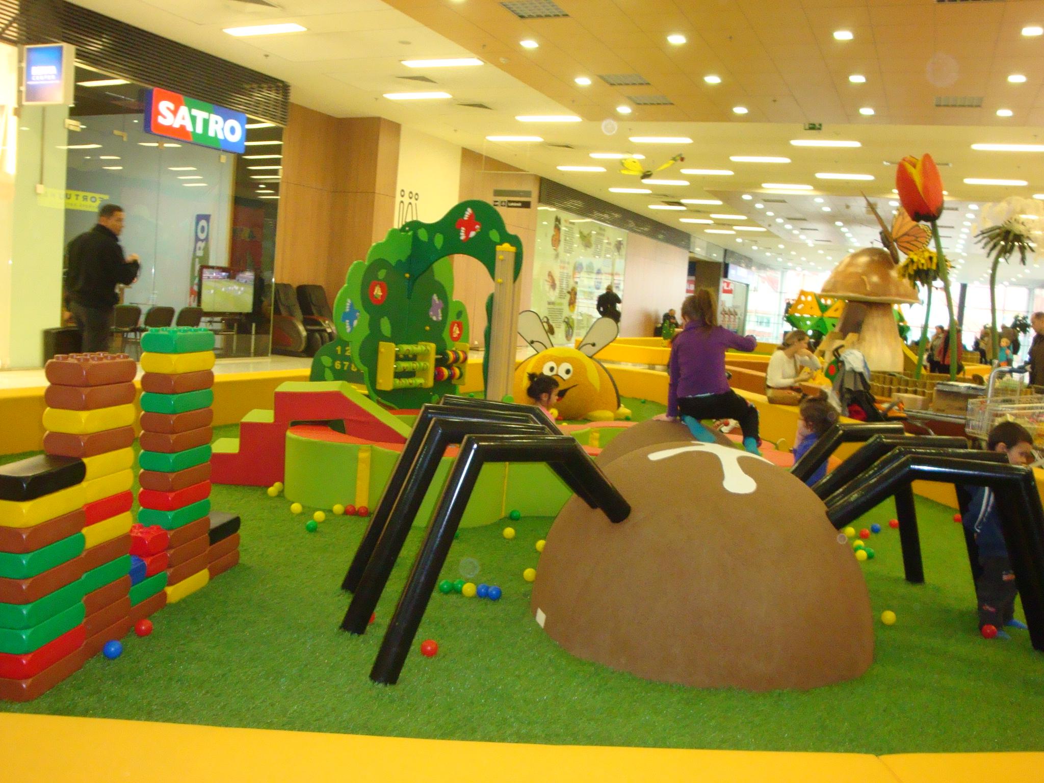 Detská zóna Mikrosvet v OC Galéria Mlyny  6adc0e5898a