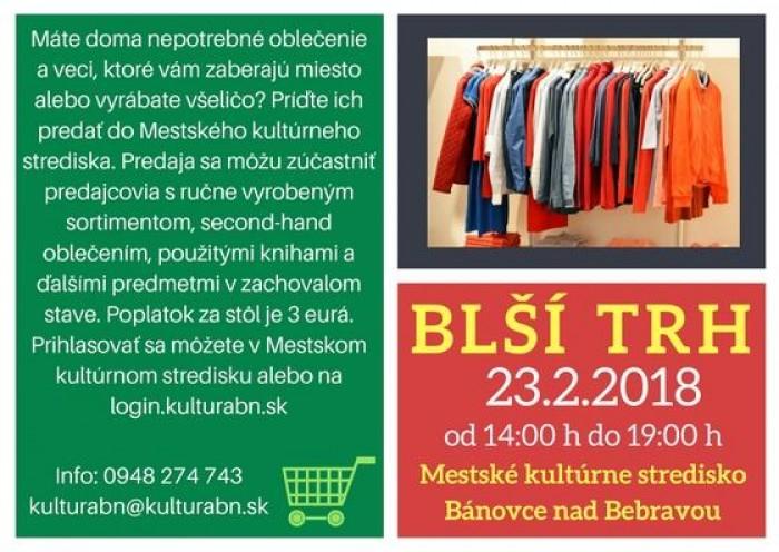 14bbe58489 Blší trh v Bánovciach