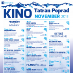 Kino Tatran november 2018 program