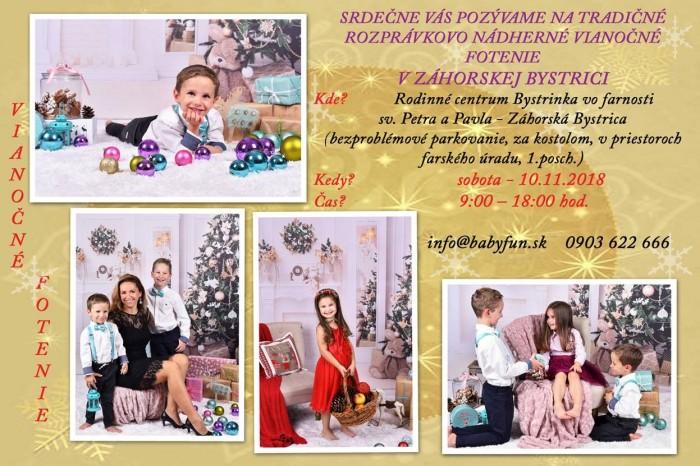 df3177c08 Vianočné fotenie v Záhorskej Bystrici   SDEŤMI.com