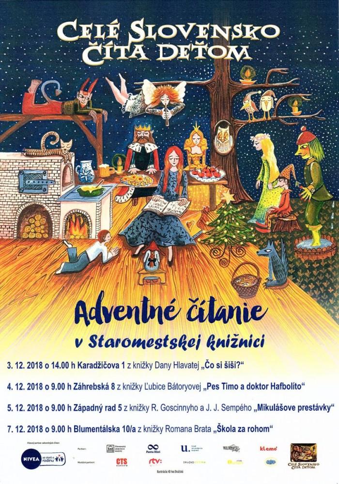 bb7e5791e Adventné čítanie deťom v Staromestskej knižnici | SDEŤMI.com