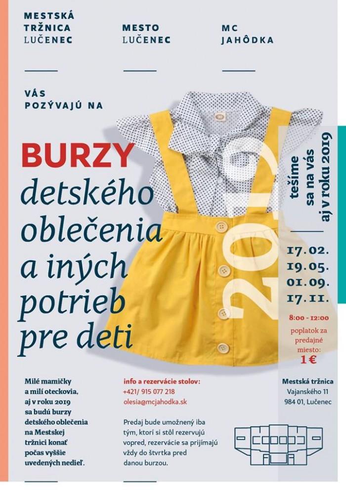 e3f22c39bfb9 Burzy detského oblečenia a iných potrieb pre deti