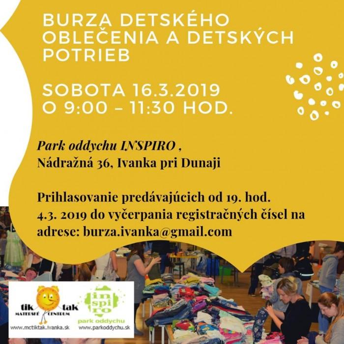 cec218eb0a9f Burza detského oblečenia a detských potrieb