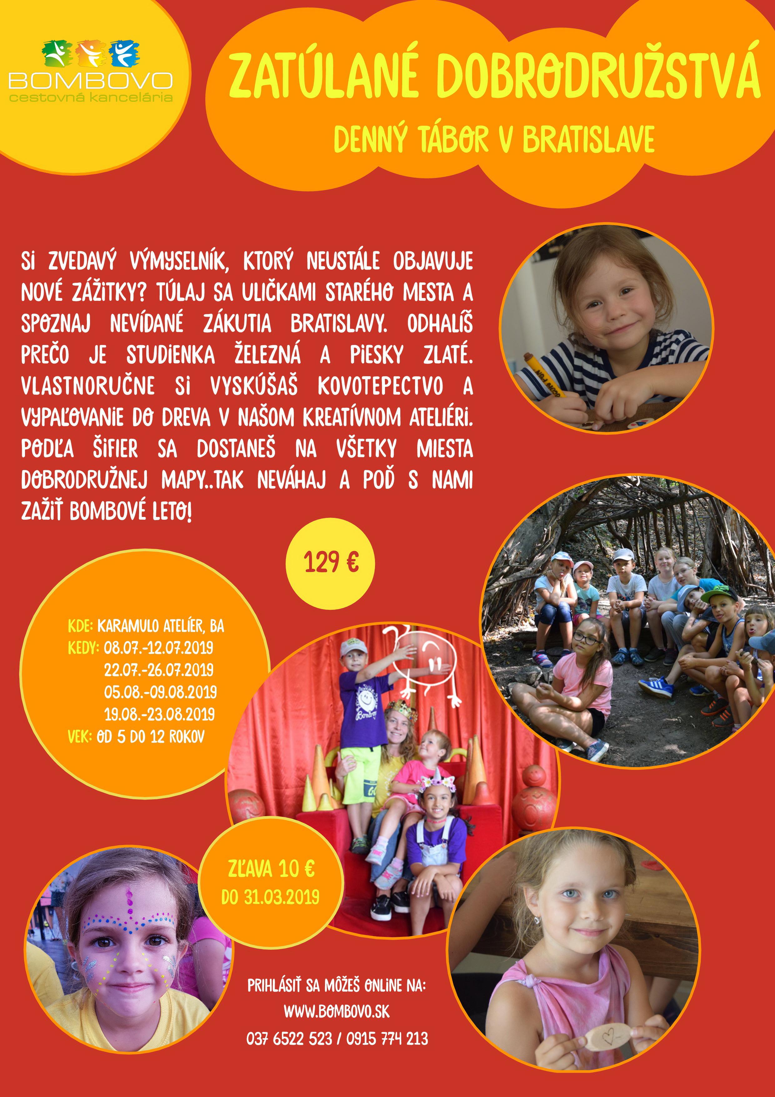 562aacd05afe4 Dobrodružný tábor v Karamulo Ateliéri   SDEŤMI.com