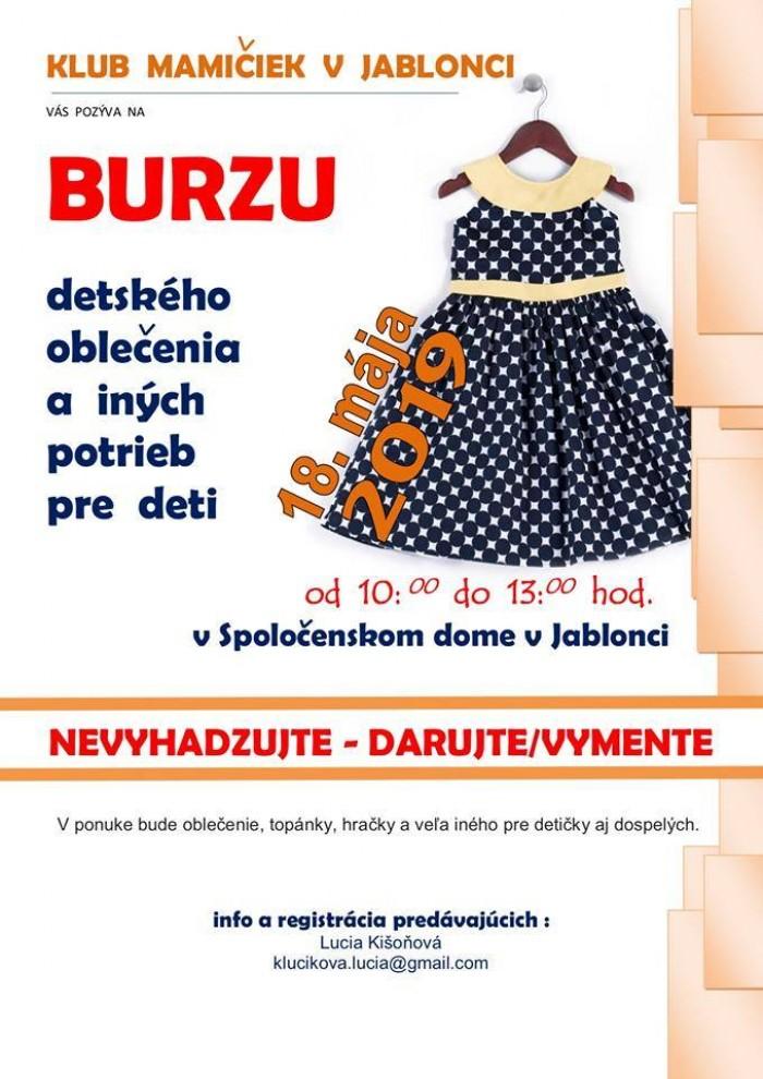c4523d5e9bf6 Burza detského oblečenia a iných potrieb pre deti