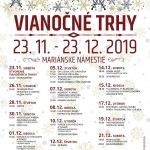 Program Vianocne trhy v Ziline 2019 1