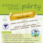 plagat Tino party A4 BA 2020 web